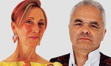 Silvia and Ed