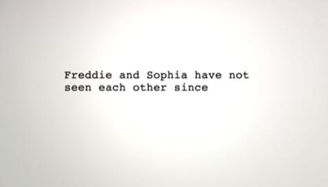 The Guyliner: Freddie and Sophia