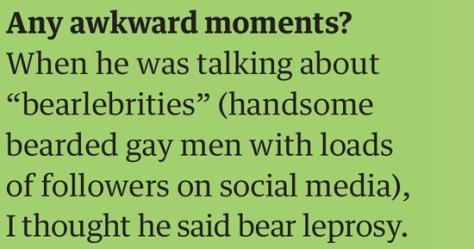 dan awkward