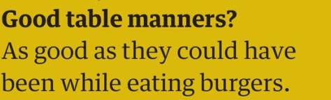 marina manners