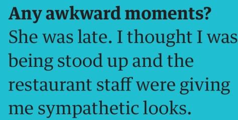 martin awkward