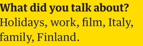 matt talk