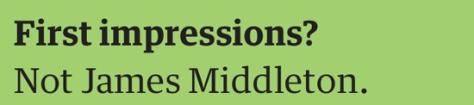 malik first impressions
