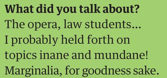 oliver talk