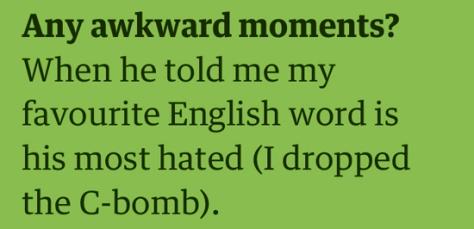 kat awkward
