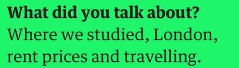 mans talk