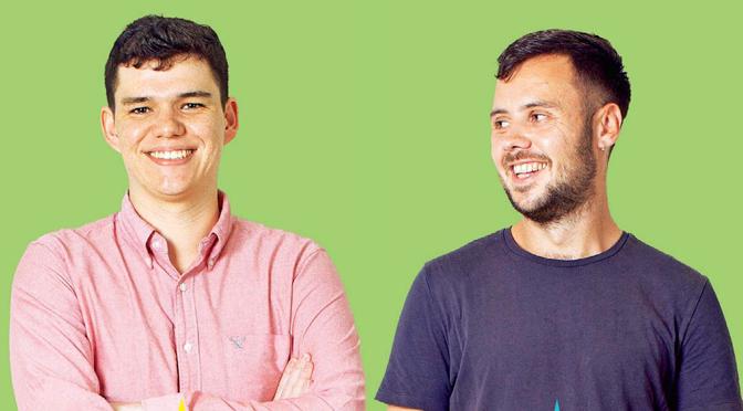 Andre and Dan